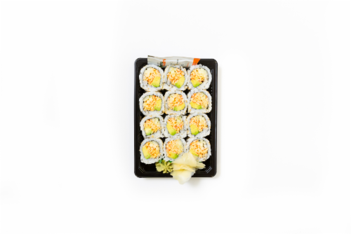 Hissho Blazing California Roll (NOT AVAILABLE BEFORE 11:00 AM DAILY) Perspective: front