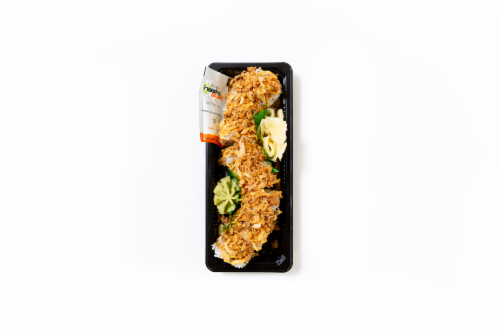 Hissho Crispy Crab Roll (NOT AVAILABLE BEFORE 11:00 AM DAILY) Perspective: front