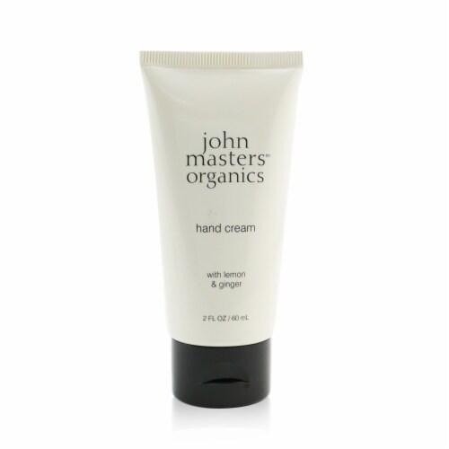 John Masters Organics Hand Cream With Lemon & Ginger 60ml/2oz Perspective: front