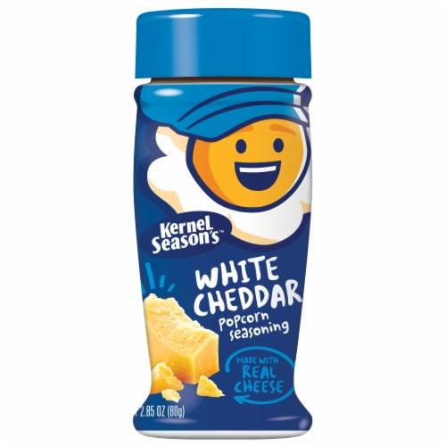 Kernel Season's White Cheddar Popcorn Seasoning Perspective: front