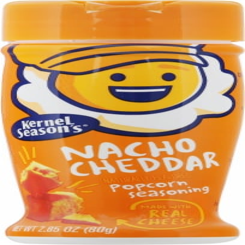 Kernel Season's Nacho Cheddar Popcorn Seasoning Perspective: front