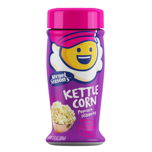 Kernel Season's Kettle Corn Popcorn Seasoning Perspective: front
