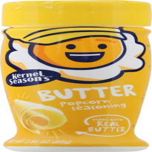 Kernel Season's Butter Popcorn Seasoning Perspective: front