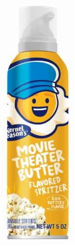 Kernel Season's Movie Theater Butter Flavor Popcorn Spritzer Perspective: front