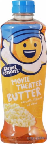 King Soopers Kernel Season S Movie Theater Butter Popcorn Topping Oil 13 75 Fl Oz