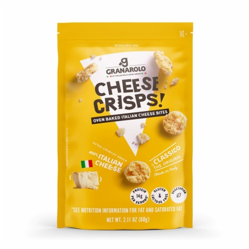 Granarolo Classic Cheese Crisps Perspective: front