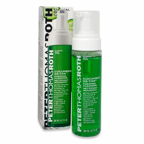 Peter Thomas Roth Cucumber Detox Foaming Cleanser Perspective: front