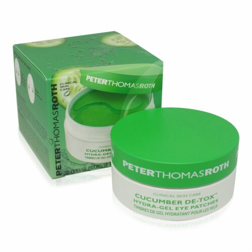 Peter Thomas Roth Cucumber Hydrating Eye Patches Perspective: front