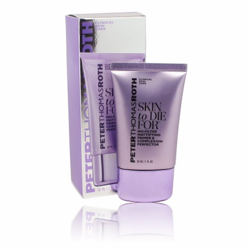 Peter Thomas Roth Skin to Die For No-Filter Mattifying Primer & Complexion Perfector Perspective: front