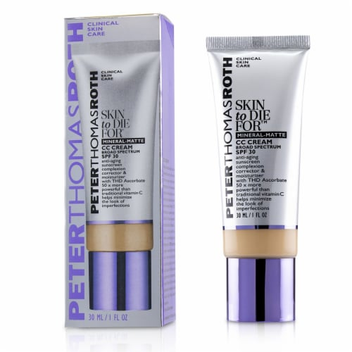 Peter Thomas Roth Skin to Die For Natural Matte Skin Perfecting Medium CC Cream Perspective: front