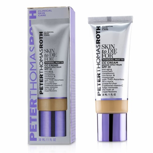 Peter Thomas Roth Skin to Die For Natural Matte Skin Perfecting Tan CC Cream Perspective: front
