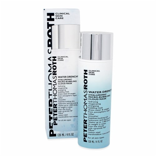 Peter Thomas Roth Water Drench Hyaluronic Micro-Bubbling Cloud Mask Perspective: front