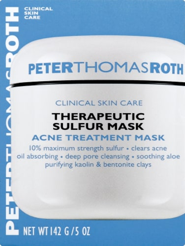 Peter Thomas Roth Therapeutic Sulfur Acne Treatment Mask Perspective: front