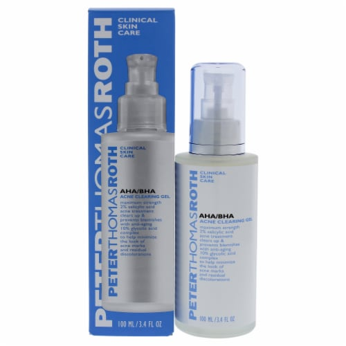 AHA-BHA Acne Clearing Gel by Peter Thomas Roth for Unisex - 3.4 oz Treatment Perspective: front