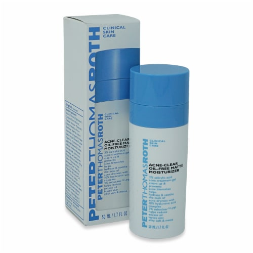 Peter Thomas Roth Acne Clear Oil-Free Matte Moisturizer Perspective: front