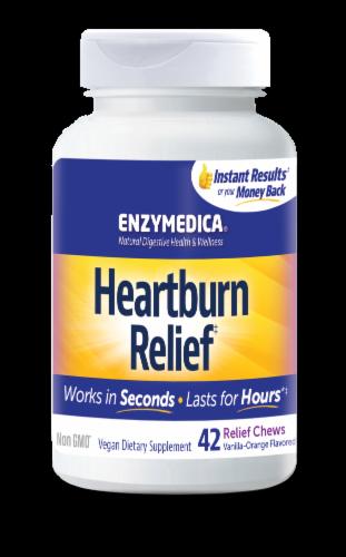 Enzymedica Heartburn Relief Chews Perspective: front