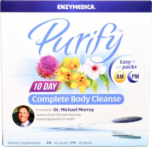 Enzymedica  Purify Complete Body Cleanse Perspective: front