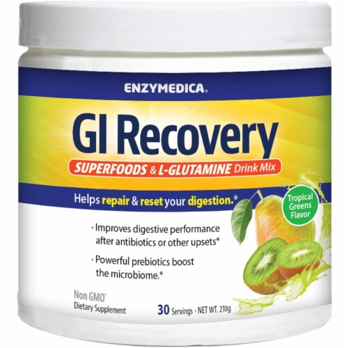 Enzymedica® GI Recovery Digestive Drink Mix Perspective: front