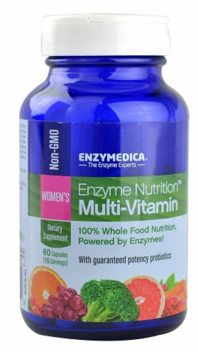 Enzymedica  Enzyme Nutrition™ Women's Multi-Vitamin Perspective: front