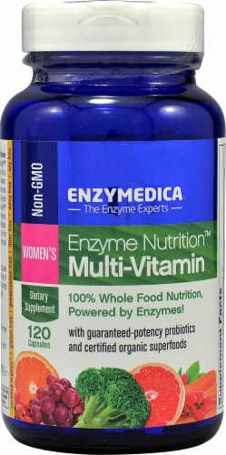 Enzymedica Enzyme Nutrition Women's Multi-Vitamin Capsules Perspective: front