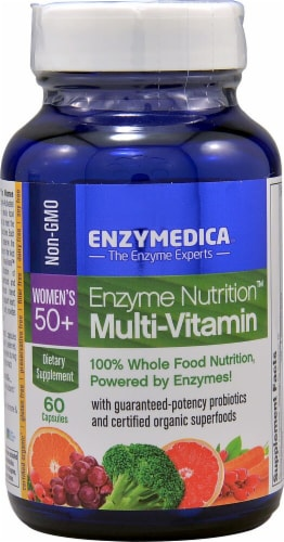 Enzymedica  Enzyme Nutrition™ Women's 50 Plus Multi-Vitamin Perspective: front
