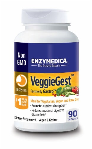 Enzymedica  VeggieGest™ Perspective: front