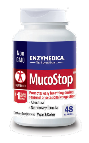 Enzymedica Mucostop Perspective: front