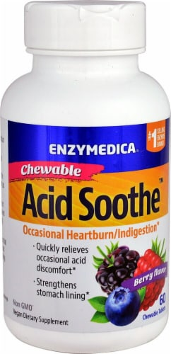 Enzymedica  Acid Soothe™   Berry Perspective: front