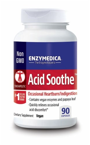 Enzymedica  Acid Soothe™ Perspective: front