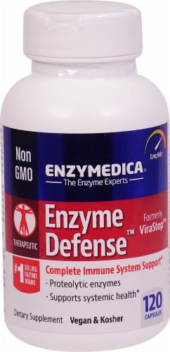 Enzymedica  Enzyme Defense™ Formerly ViraStop™ Perspective: front