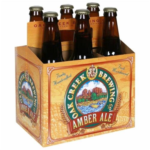 Oak Creek Amber Ale Perspective: front