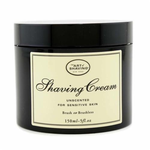 The Art Of Shaving Shaving Cream  Unscented (For Sensitive Skin) 150ml/5oz Perspective: front