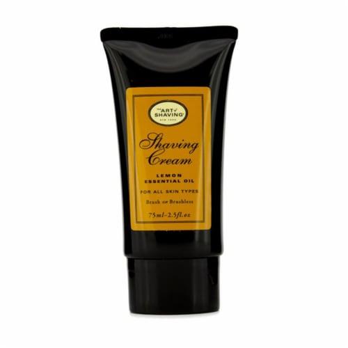 The Art Of Shaving Shaving Cream  Lemon 2.5 oz Perspective: front