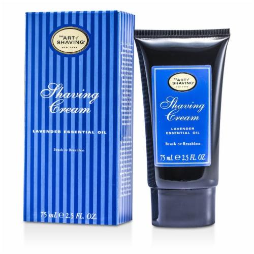 The Art Of Shaving Shaving Cream  Lavender 2.5 oz Perspective: front