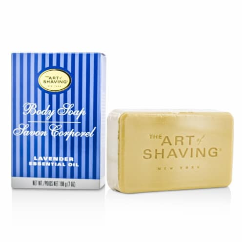 The Art Of Shaving Body Soap  Lavender Essential Oil 198g/7oz Perspective: front