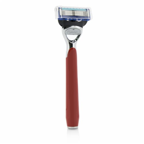 The Art Of Shaving Morris Park Collection Razor  Signal Red 1pc Perspective: front