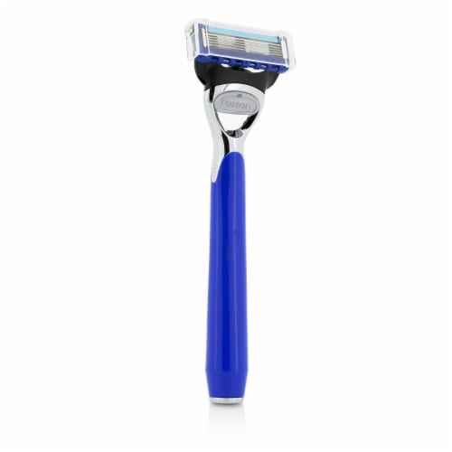 The Art Of Shaving Morris Park Collection Razor  Royal Blue 1pc Perspective: front