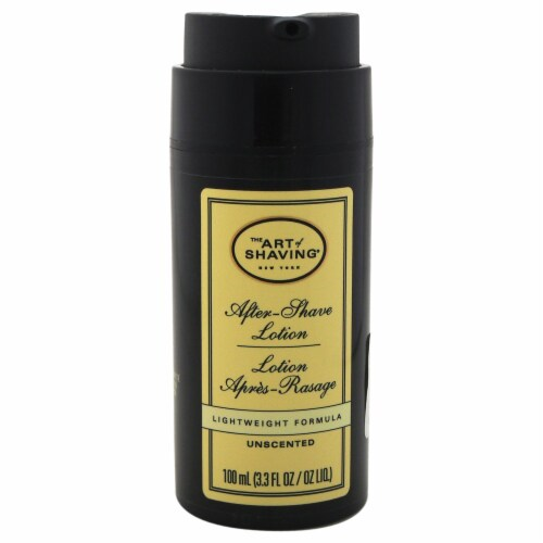 The Art Of Shaving AfterShave Lotion  Unscented AfterShave Lotion (Tester) 3.3 oz Perspective: front