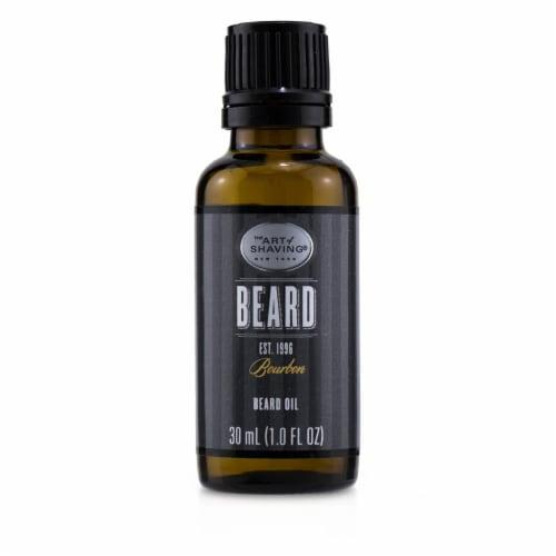 The Art Of Shaving Beard Oil  Bourbon 30ml/1oz Perspective: front