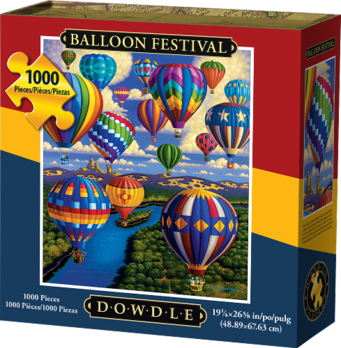 Dowdle Balloon Festival Jigsaw Puzzle Perspective: front