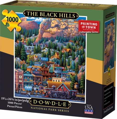 Dowdle The Black Hills Jigsaw Puzzle Perspective: front