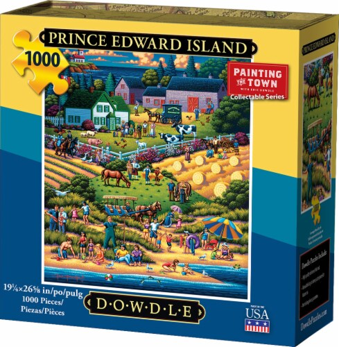 Dowdle Prince Edward Island Jigsaw Puzzle Perspective: front