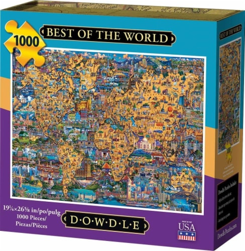 Dowdle Best of World Jigsaw Puzzle Perspective: front
