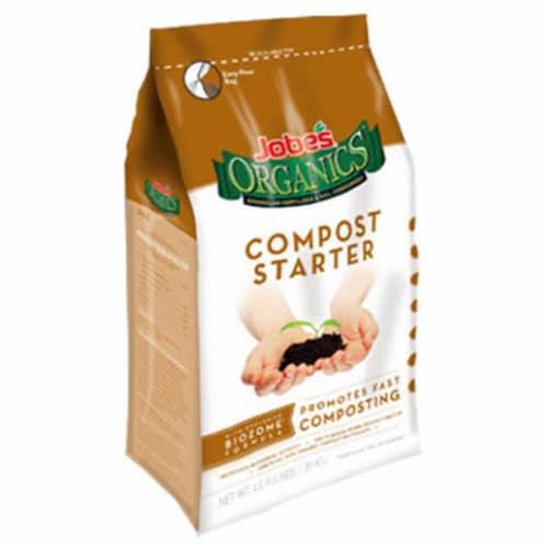 Easy Gardener 09926 4 lbs. Jobes Organic Compost Starter Granular Fertilizer Perspective: front
