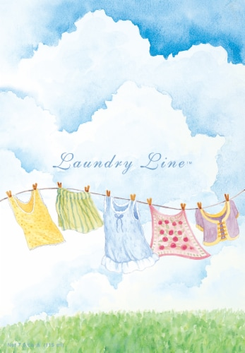 Willow Brook Laundry Line Scented Sachets Perspective: front
