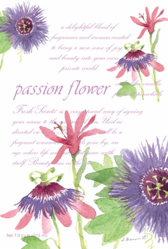 Fresh Scents Passion Flower Sachet Pack Perspective: front