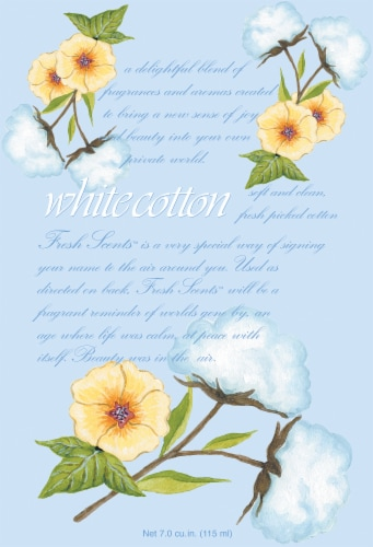 Willow Brook White Cotton Scented Sachets Perspective: front