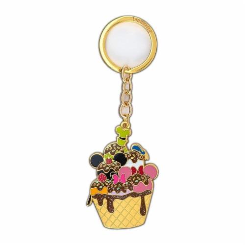 Loungefly Disney Sensational 6 Ice Cream 2.5 Enamel Keychain Perspective: front