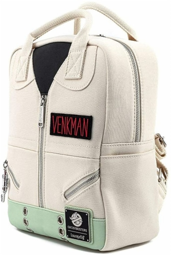 Loungefly Ghostbusters Cosplay Square Canvas Backpack Perspective: front