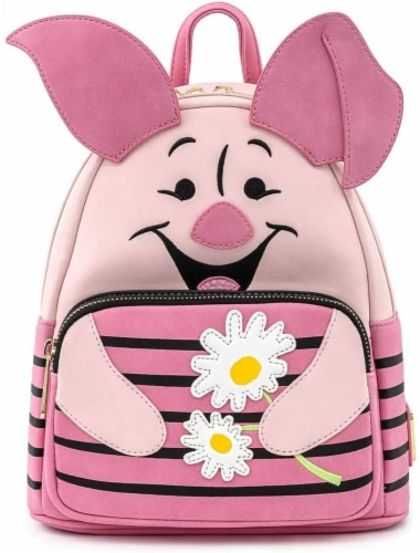 Winnie The Pooh Piglet Cosplay Mini Backpack Perspective: front